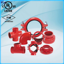 Ductile iron Grooved fitting - Tee