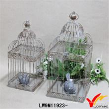 Venta al por mayor Vintage Rústico Shabby Chic Iron Birdcage