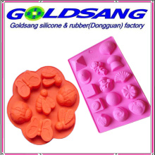 Multi-Shape in a Mold Silicone Ice Tray