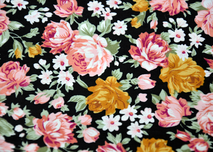 100 Cotton Printed Fabric