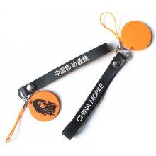 Kundenspezifisches Logo PVC Keychain, weiches PVC