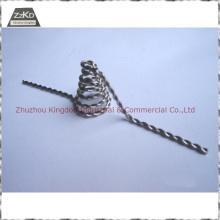Filamento de tungstênio para materiais de metalização / evaporação a vácuo / Fio trançado de tungstênio