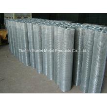 PVC-beschichtetes geschweißtes verzinktes Eisen-Draht-Ineinander greifen, heißes getauchtes galvanisiertes Drahtgeflecht, Lager geschweißte verzinkte Speicher-Stahldraht-Ineinander greifen