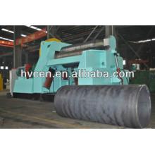 Machine à former des métaux / machine à laminer à rouleaux à 4 rouleaux w12-55 * 2500 / machine à cintrer les feuilles