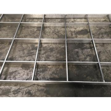 Stainless Steel Tekan Terkunci Grating
