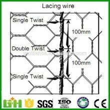 El PVC de la fábrica de Anping cubrió el acoplamiento de alambre de conejo / el alambre del pollo / el acoplamiento de alambre hexagonal