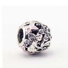 Modeschmuck 925 Silber Europäische Charms CZ Schmuck