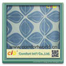 Gros nouveau style ningbo approvisionnement en nylon T / C flocage textile tissus impression