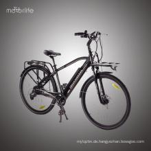 Heißer Verkauf billig 36V350W Stadt motorisiertes Fahrrad, Bafang hinten Mitte Laufwerk elektrisches Fahrrad, grüne Macht elektrisches Fahrrad