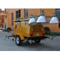Precio de generador diesel silencioso de la torre de la ligth de la velocidad silenciosa móvil multipropósito