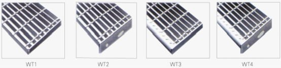 galvanized steel bar grating stair tread
