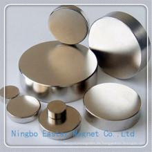 N52 Tamaño grande disco de NdFeB Permanente imán