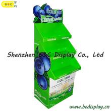 Présentoir de carton de fruit, affichage agricole et de produits de ligne latérale (B & C-A080)