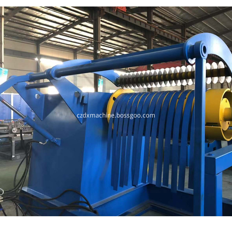 Slitting Machine Line With Decoiler And Recoiler