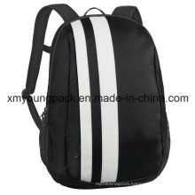 Fashion Black Tarpaulin Travel Laptop Backpack