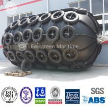 Garde-boue pneumatique marine de certificat ISO de palier élevé et de Strengh