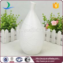 Cerámica de jarrón cerámica única para florero