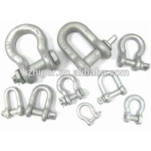 Marine enormous force D-type M4 stainless steel shackle