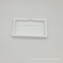bandeja transparente da embalagem da bolha do PVC do costume para o fone de ouvido
