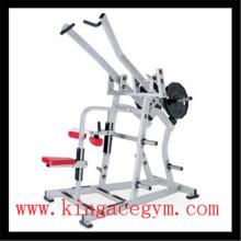 Équipement de gymnastique de remise en forme commerciale large ISO-latéral Pulldown