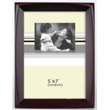 "Hot Selling Brown 5""X7"" pp Injection Photo Frame"