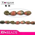 Beautiful Teardrop Precious And Semiprecious Stones Beads