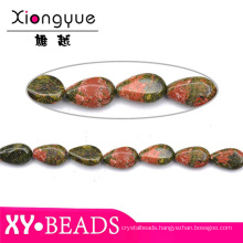 Beautiful Teardrop Precious And Semiprecious Stones Beads