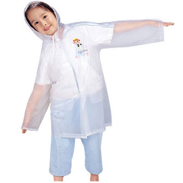 Practical kids EVA raincoat