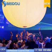 Освещенная сенсорная реклама Переполненные воздушные шары Надувные интерактивные шары Zygote