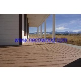 wpc hollow decking waterproof