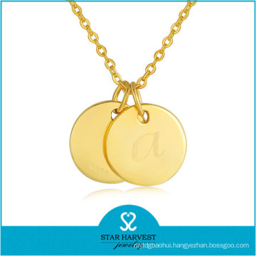 10 Years of Jewelry Manufacturer Silver Gold Plated Pendants (N-0301)