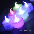 Warna led light tea ukuran lilinnya sama
