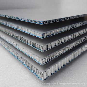 Panneaux composites en nid d'abeille en aluminium de qualité A2