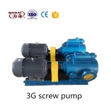 Pompe à vis horizontale pompe horizontale à transfert d'huile de pompe à vis 3G pour la distribution de carburant