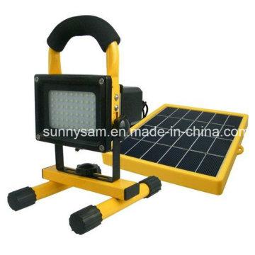 Panel solar de ahorro de energía Lámpara solar de aleación de trabajo