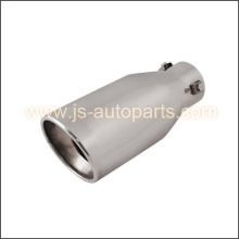 INLET 2.25 OUTLET 3.75 SLANT CUT  RESONATED  EXHAUST TIP