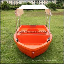 PE populaire bateau 3,6 m lac pêche bateau en plastique pour 6 personnes