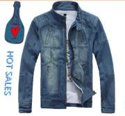 Denim Jeans Jacket Men Supplier China