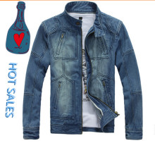 Denim Jeans Jacket Men Supplier China