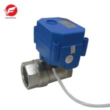 El agua 12v más duradera motorizada con válvula de control motorizada con temporizador