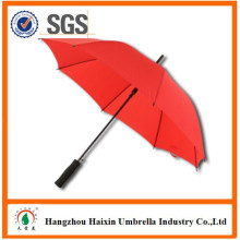 Fábricas chinesas Imprimir Logo Anúncio Walking Stick Umbrella Barato