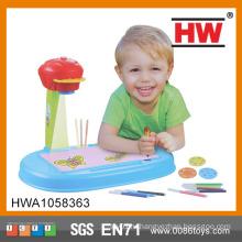 Новый дизайн Дети учатся рисовать игрушку проектора