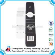 China Fabrik Best Preis Matt laminiert Black Box Verpackung von hoher Qualität