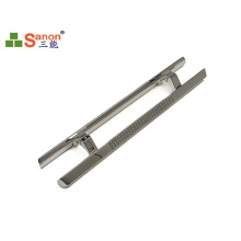 ASTM 304 Stainless Steel Pull Handle Corrosion Resistance For Doors / Windows