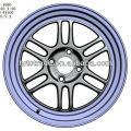 15 pouces belle roue de voiture sport 4/6/8 trous 114.3mm réplique
