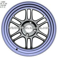 15 inch beautiful 4/6/8 hole 114.3mm replica sport car wheel