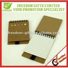 Melhor preço reciclado Note Pad com caneta