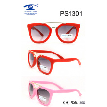 Fashionable Colorful Kid Plastic Sunglasses (PS1301)