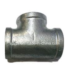 Tela de montaje de tubo de hierro maleable galvanizado igual