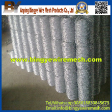 Hot-DIP galvanizado alambre de púas Precio por rodillo